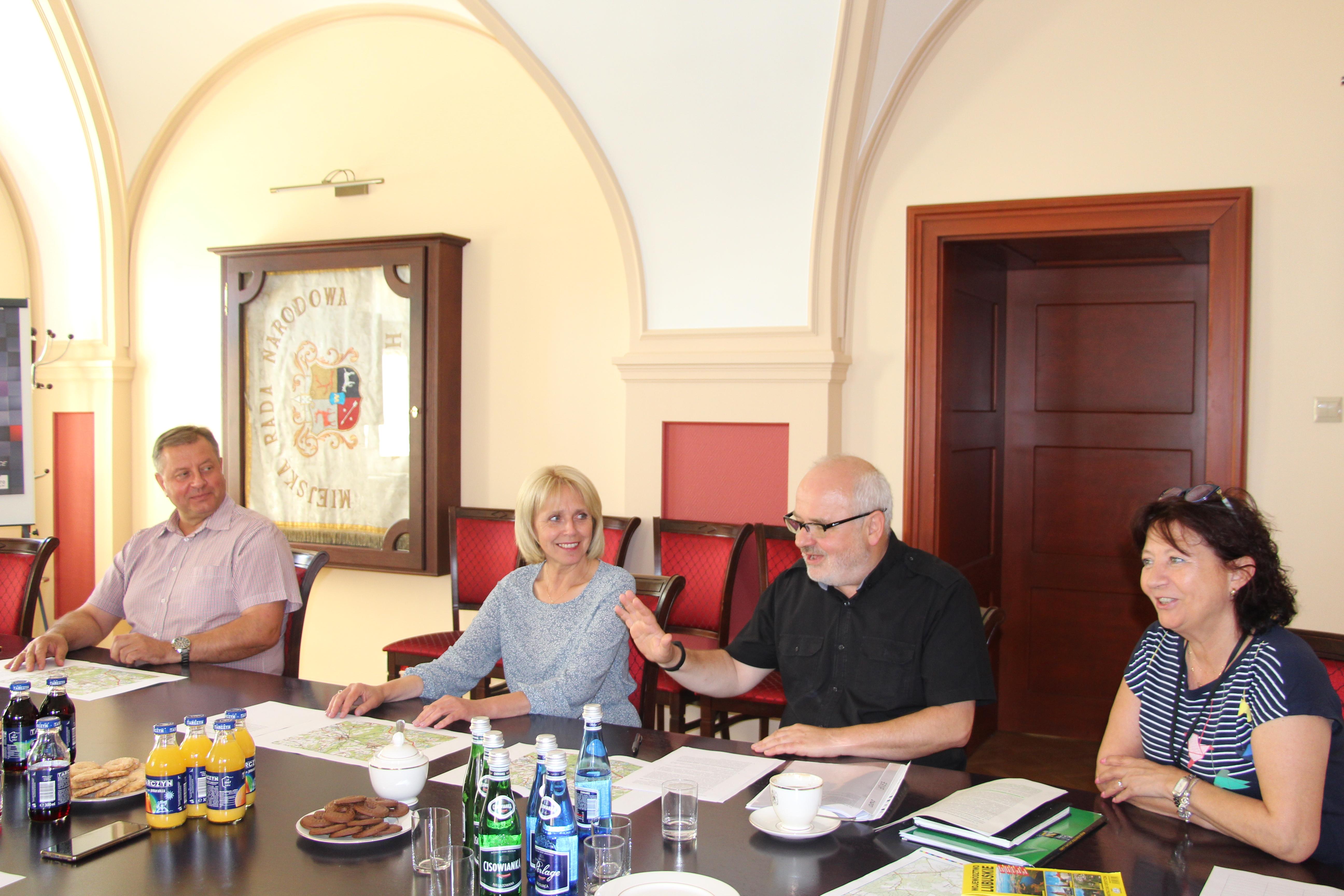 Ilustracja do informacji: Spotkanie w ramach Żarsko-Żagańskiego Obszaru Funkcjonowania