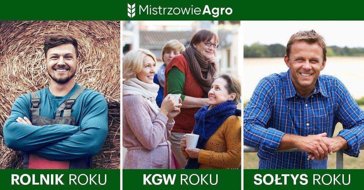 Ilustracja do informacji: MISTRZOWIE AGRO Wielki plebiscyt rozpoczęty! Zagłosuj na sołtysów, rolników i koła gospodyń wiejskich z terenu Gminy Żary !!!