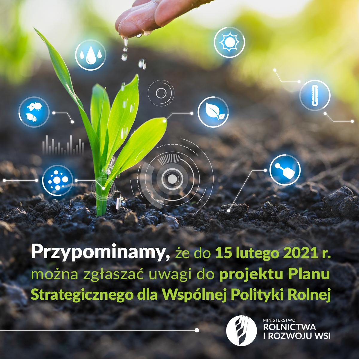 Ilustracja do informacji: Ważne dla rolników. Trwają konsultacje społeczne projektu Planu Strategicznego dla Wspólnej Polityki Rolnej.