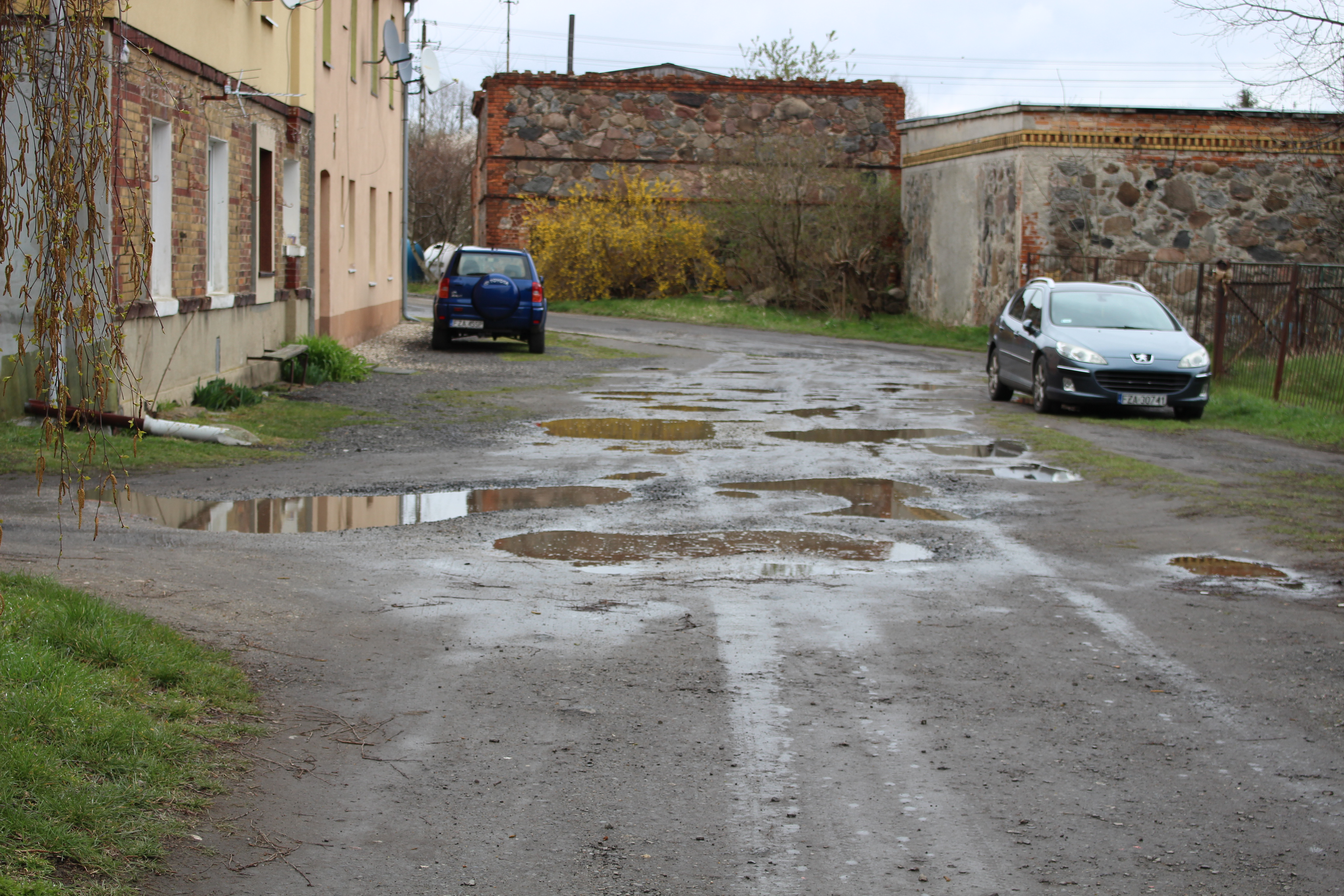 """Ilustracja do informacji: Nowa droga w Bieniowie. Będzie dojazd do """"Korei"""""""
