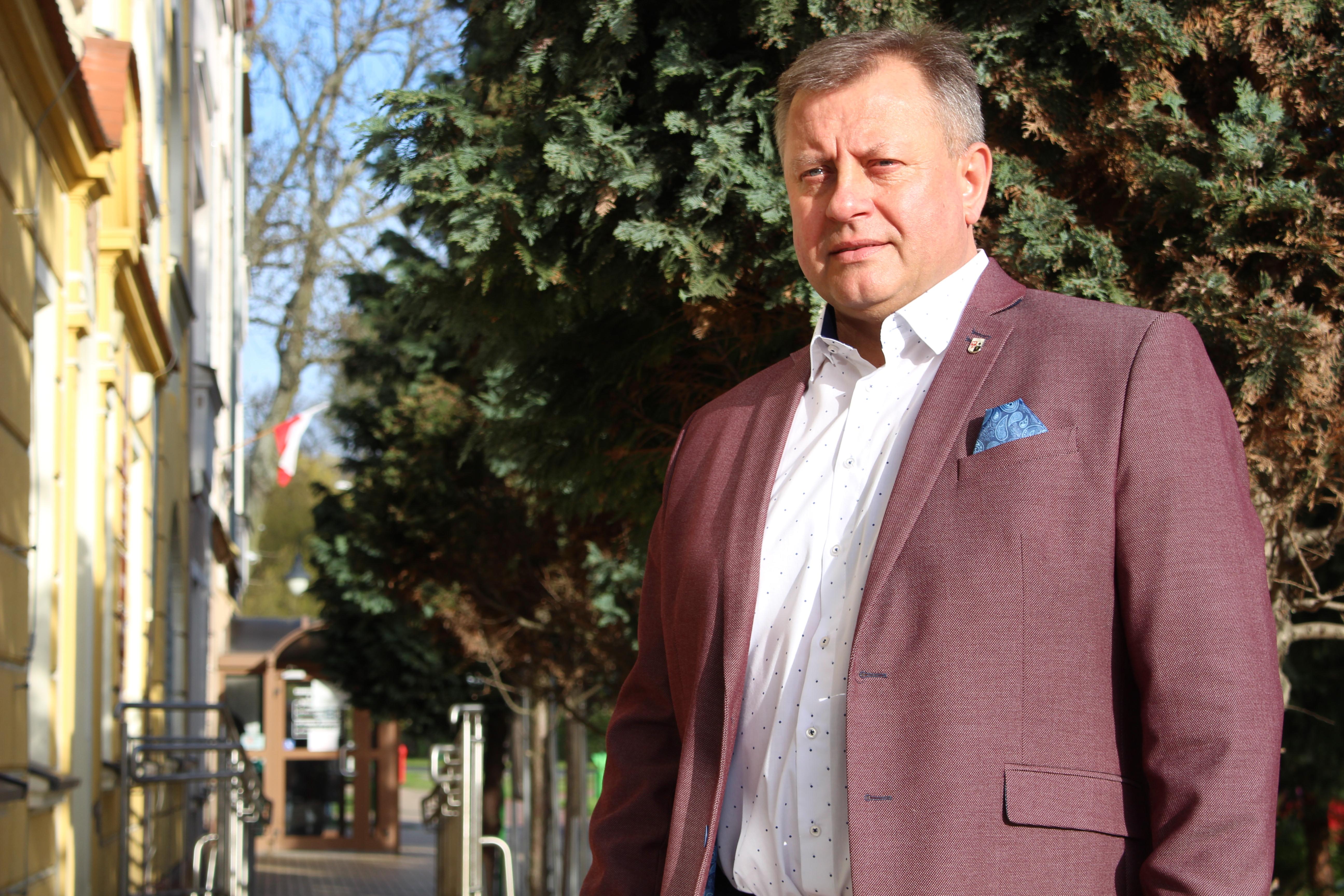 Ilustracja do informacji: Wójt Leszek Mrożek zwycięzcą plebiscytu Gazety Lubuskiej Osobowość roku 2020 na szczeblu powiatowym!