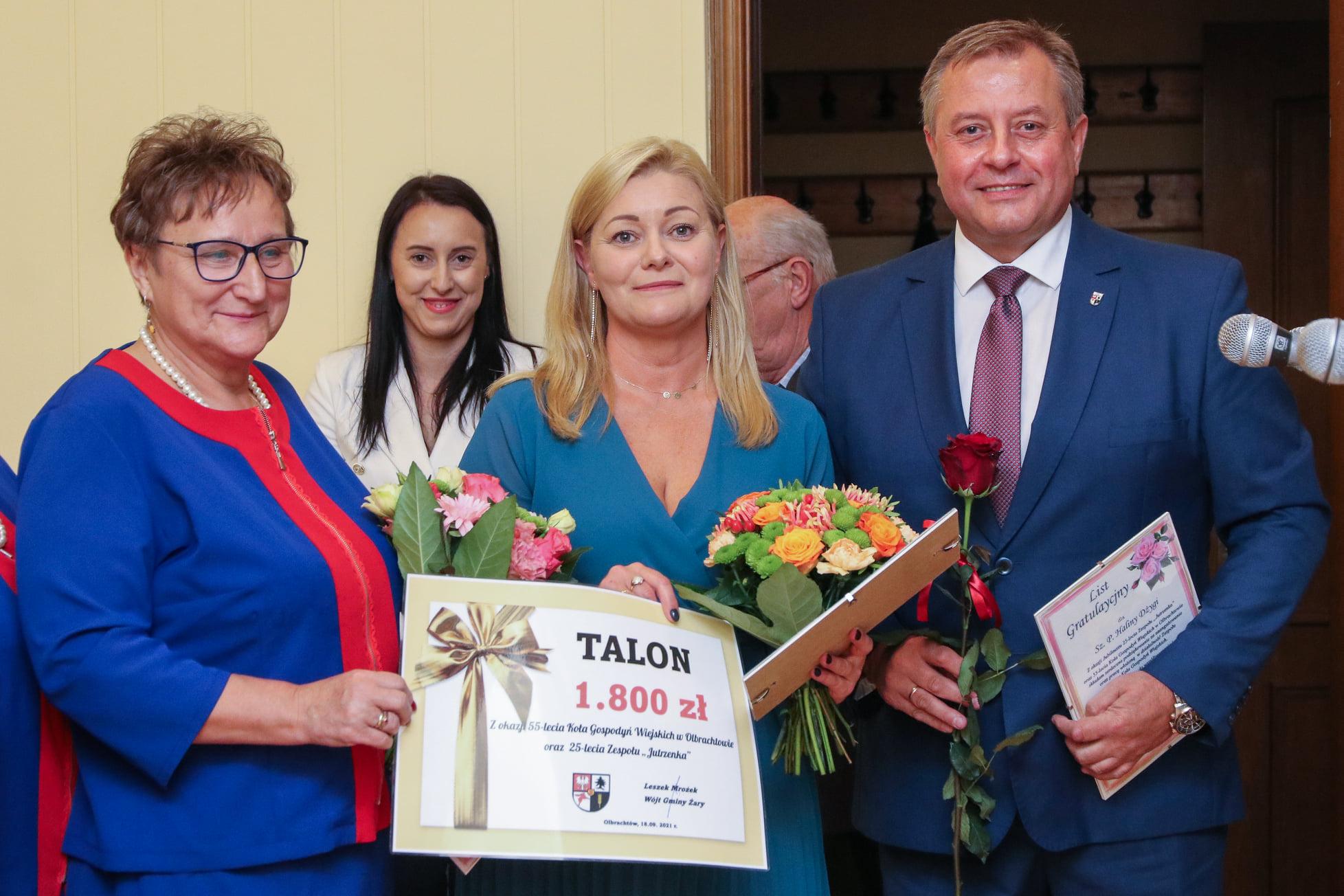 Ilustracja do informacji: Okrągłe jubileusze Jutrzenki i KGW z Olbrachtowa