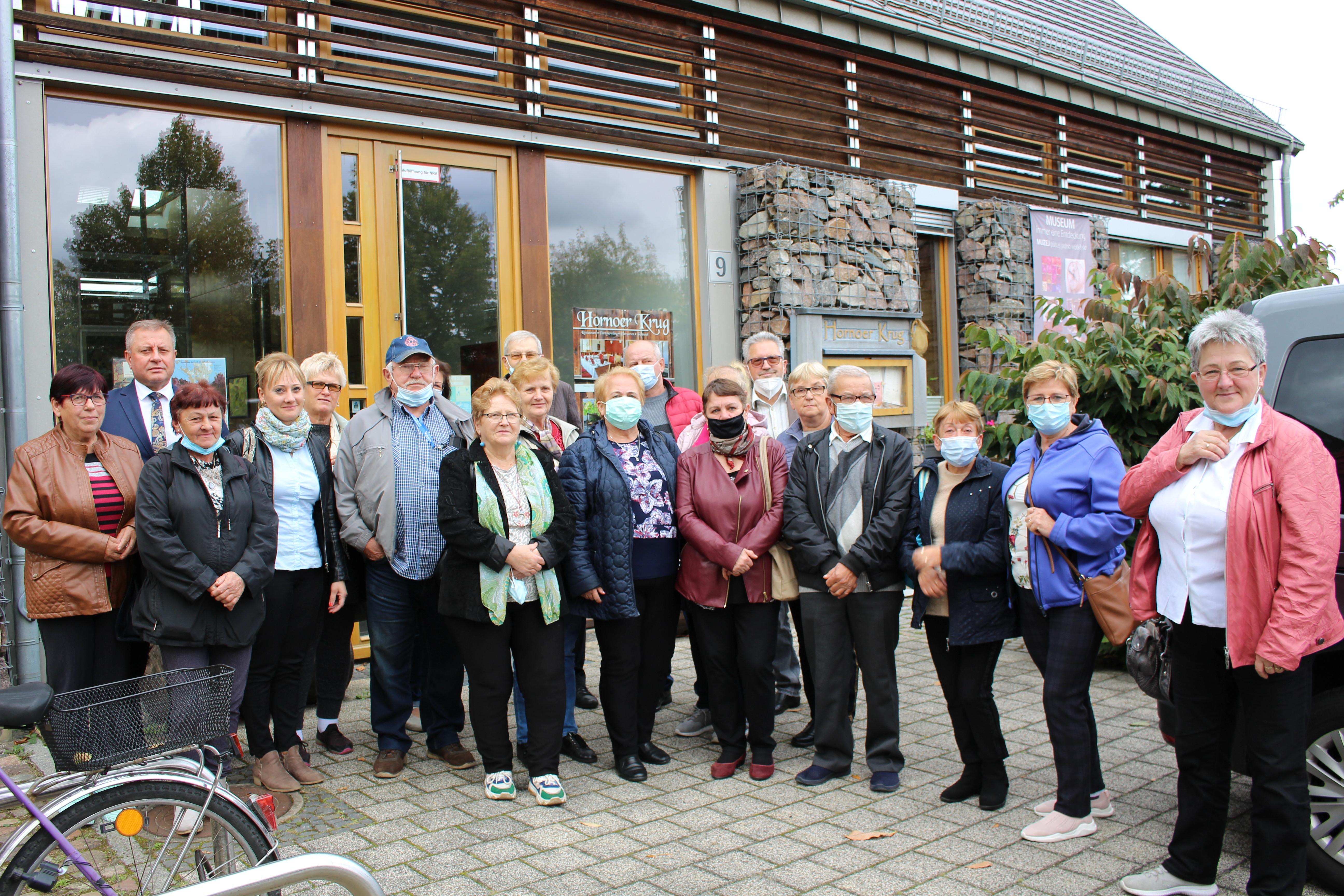 Ilustracja do informacji: Z wizytą u seniorów w Neuhausen/Spree